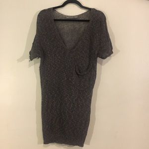 Rubbish Brand Knitted Short Sleeve Sweater